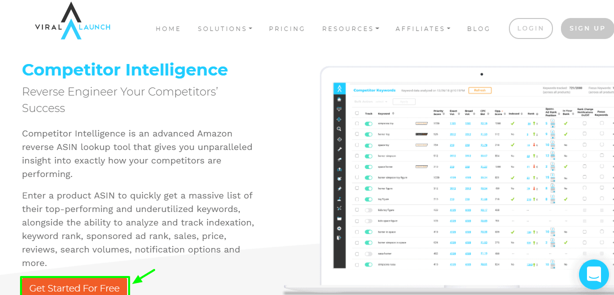 Competitor Intelligence Viral Launch