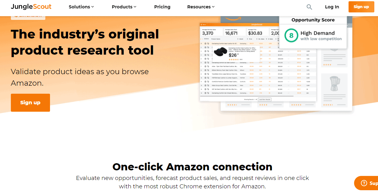 JungleScout Chrome Extension