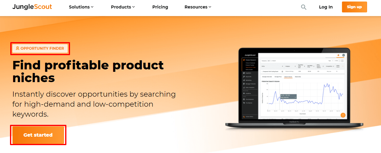Jungle Scout Opportunity Finder- JungleScout Product tracker