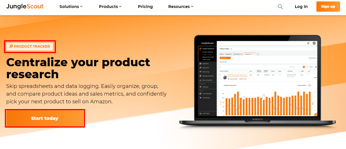 Jungle Scout Product Tracker- Junglescout market for freelancers