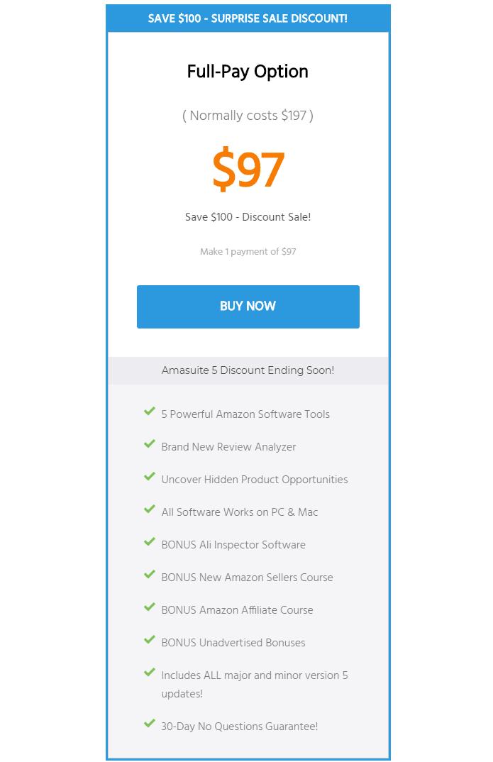 Amasuite Pricing- Amasuite comparison