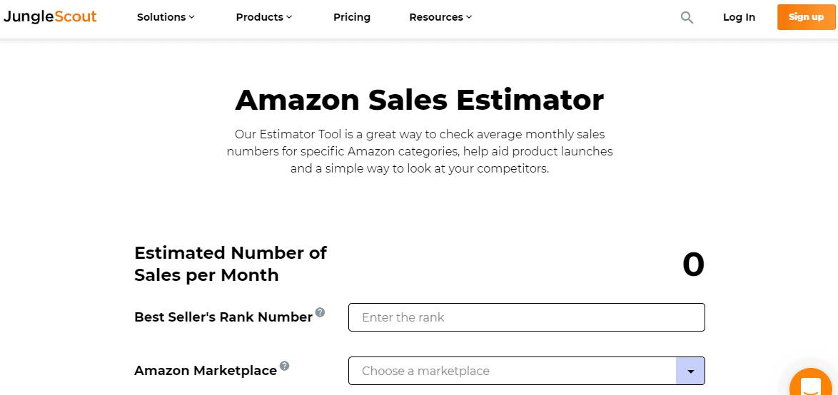 Jungle Scout Sales Estimater- Jungle Scout vs Amzscout